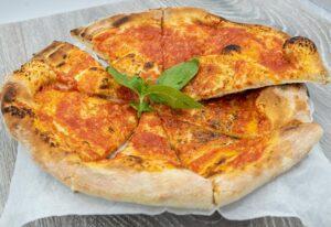 Garlic Pizza Bread (with tomato)